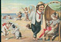 Sherlock Holmes Cats Beach Hilscher   AF.1632