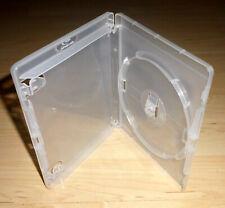 50 Blu Ray Hüllen Einfach 1fach 1-fach transparent durchsichtig BluRays Blue Neu
