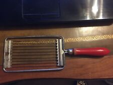 Vintage Holland Tomado Slicer ! Great Wall Decor with Awesome RED Handle !