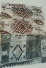 2 PACK CHARLOTTE RUSSE COWL NECK FINE WOVEN AZTEC PRINT INFINITY SCARFS NWOT