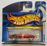 2001 Hotwheels Ferrari 156 first editions Red European Short Card Release MOC!