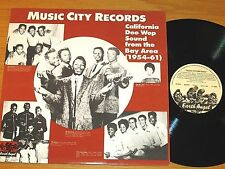 "LOT of 2 IMPORT DOO-WOP GROUP LPs - VARIOUS -  ""MUSIC CITY RECORDS"" Vol 1 & 2"