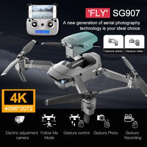 4K HD Drone X Pro Aerial Camera WIFI FPV GPS Foldable Mini Selfie RC Quadcopter