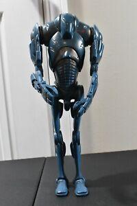 "Super Battle Droid Figure 12""-Hasbro-Star Wars Attack of the Clones 1/6 Scale"
