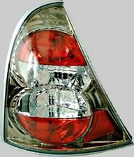 Renault Clio Mk2 Mk3 3 / 5 Door Chrome Silver Pair Rear Lexus Car Lights