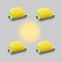 S607 - 10 Stück SMD Blink LEDs 0805 warmweiß blinkend Blinklicht Blinksteuerung