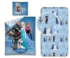 Frozen Team 3-Pezzi Set Letto Singolo Copripiumino, Federa, Lenzuola c/Angoli