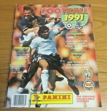 Unique Panini Football 1991 Sticker Album 100% Complete & Hand Signed By 100's !