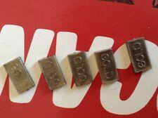 Waddingtons Buccaneer 1976 spares - Gold Bar token - 1 supplied