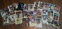 Mario Lemieux Hockey card Lot: Mixed Years & Makes: Pittsburgh Penguins HOF'er