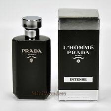 L'HOMME PRADA INTENSE EDP 9 ml Miniature de Collection Neuve avec Boite