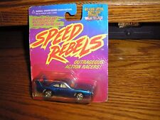 Rare Speed Rebels Wing Thing 1960's 1970's Dodge Charger Daytona Blue Free S/H