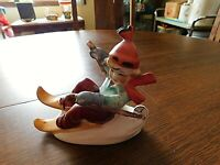 Vintage Girl Figurine Skiing Napco?