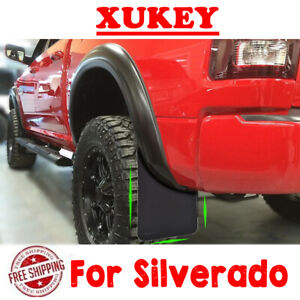 Front&Rear Mud Flaps For Silverado Splash Guards Mudguards Mudflap Fender US