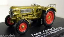 Schuco 1/43 Scale 02722 Fendt Farmer 2 Gold 100.000 1961 diecast model tractor