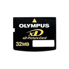 32MB OLYMPUS XD MEMORY CARD STANDARD TYPE FUJI FINEPIX/OLYMPUS CAMERAS 32 MB
