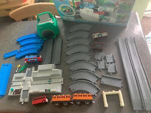 Tomy Trackmaster Thomas trainset 4771 THOMAS BIG RACE SET Rail Road Working