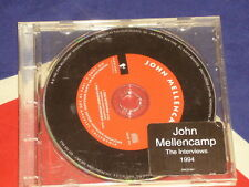 John Mellencamp-The interviste 1994 RARE CD MERCURY SACD 991