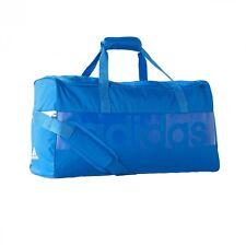 Adidas B46120 Tiro Linéaire Sac de Sport Gr. M Bleu