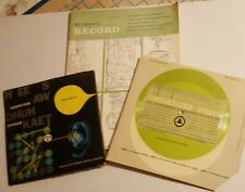 Rare Vintage 1960's Bell Laboratories Computer Speech Records & Magazine Lot