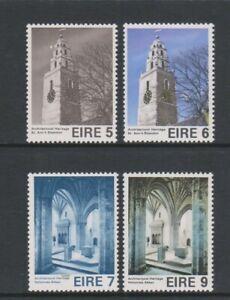 Ireland - 1975, Int. European Architectural Heritage Year set - MNH - SG 378/81