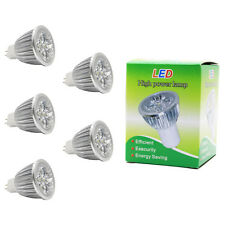 5x 5W MR16 LED Lampen Leuchtmittel Spotlight Birne 350lm,DC12V,Kaltweiß,6000K