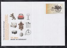 A 51 ) Postal stationary 2012: 125 years Made in Germany, VW Beetle, Teddy Bear