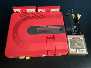 Sharp Twin Famicom + 1 Jeux Zelda - Nintendo - AN-500R - New Belt / Courroie