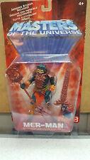 MOTU Masters of Universe He-Man MER-MAN figure sealed 2001 MIP NM
