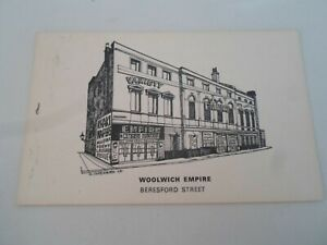 Woolwich Empire, Beresford Street, Drawn by Nick Charlesworth Badger PC §ZA1494
