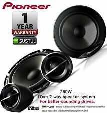 "Pioneer 17cm 2-way 6.5"" Car Audio Component Speaker System Set 280W TS-G173Ci"