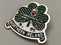 1994 Commonwealth Games Victoria Canada Northern Ireland Clover Pin F904