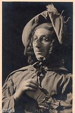 BJ995 Carte Photo vintage card RPPC Homme déguisement lunette costume