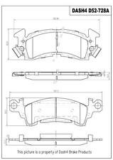 Disc Brake Pad Set-Ceramic Pads Front Pronto PCD52