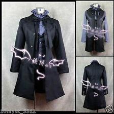 NEW Kuroshitsuji Devil Black Butler Ciel Phantomhive Cosplay Costume Uniform