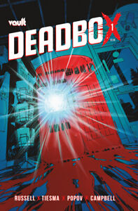 Vault Comics DEADBOX #1 Tiesma Cover