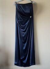 Cameron Blake By Mon Cheri Womens 20 Strapless Formal Dress Gathered Waist Embel
