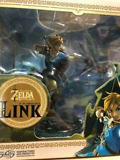 FIRST 4 FIGURES THE LEGEND OF ZELDA BREATH OF THE WILD LINK 25cm STATUE ROTTO