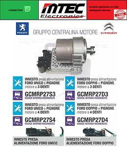 Motor ECU Box Fahren Servolenkung Citroen C3 Picasso Peugeot 207