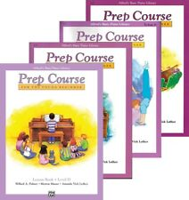 Alfred's Basic Piano Prep Course Level D - 4 Book Pack (Lesson/Theory/Solo/Tech)