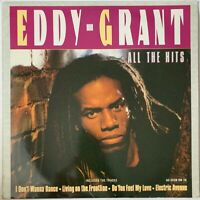 EDDY GRANT ALL THE HITS LP K-TEL UK 1984 NEAR MINT PRO CLEANED