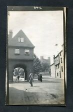 C1920s Photo: People by Jaspers Gate, Rochester