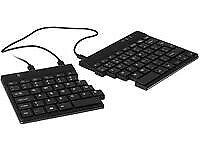 R-Go Tools RGOSP-ESWIBL Split Ergonomic Keyboard QWERTY (ES), black, wired ~E~