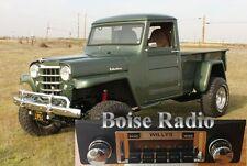 NEW Now Available Willys trucks jeeps retro 300 watt Stereo Radio aux. input USB