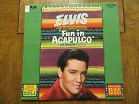 Elvis Presley – Fun In Acapulco - 1977 - RCA Victor LSP-2756 Vinyl LP VG+/VG+!!!