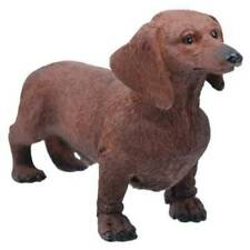 Dachshund Dog Chocolate Figurine 3 inch Statue Resin Standing Up