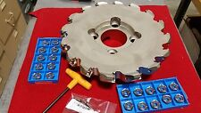 "MFPN4510000R16T KYOCERA 10"" 16 TOOTH MILLING CUTTER W/20 INSERTS KIT"