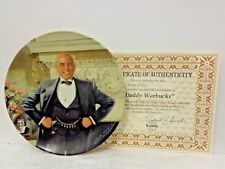 """Daddy Warbucks"" Knowles Collector's Plate- 1982 - w/ Coa No. J424"
