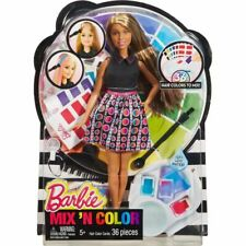 MATTEL DHL91 BARBIE MIX 'N COLOR BRUNETTE DOLL (D)