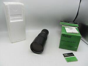 Vivitar Telephoto f5.6 400mm TX w/ m42 Mount Lens For SLR/Mirrorless Cameras